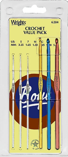 Wrights Boye Crochet Value Set - 1.90mm-5.50mm