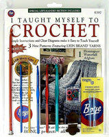 "Wrights Boye ""I Taught Myself To Crochet"" Beginners Kit"