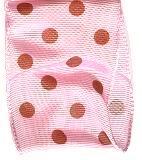 "Morex Polka Dot Ribbon with Wire Edge - 1 1/2"" Width"
