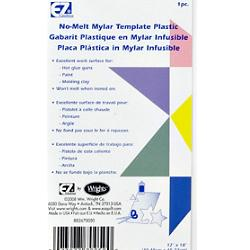 Wrights No Melt Mylar Template