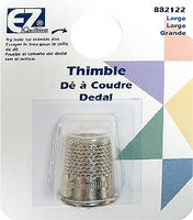 Wrights Recessed Thimble - Size Large