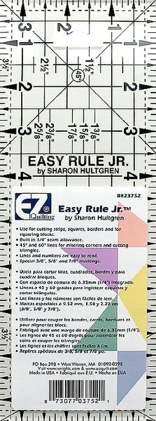 "Wrights Easy Rule Jr. - 3 1/2""x9 1/2"""