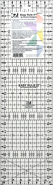 "Wrights Easy Rule II - 6 1/2""x24"""