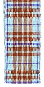 Morex Blackberry Plaid Polyester Tartan Ribbon