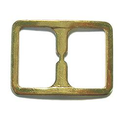 "JKM Stamped Center Bar Buckle - 1"" (ID: WBAL-930)"