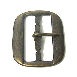 JKM Stamped Center Bar Buckle - 1 1/4""