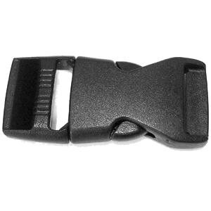"JKM Contoured Side Release Buckle - 1"" (ID: WBPL217A)"