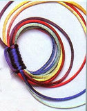 JKM Authentic Rattail Satin Cord - Multicolor