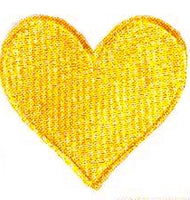 JKM Large Heart Applique (Iron On)