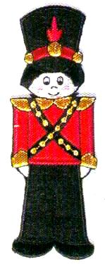 JKM Large Toy Soldier Applique (Iron On)