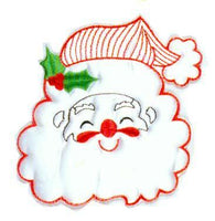 JKM White Santa Applique (Stick On)