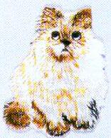 JKM Small Cat Sitting Applique (Iron On)
