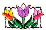 JKM Small Tulips Applique (Stick On)