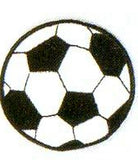 JKM Large Soccer Ball Applique (Iron On)