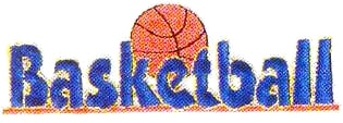 JKM Blue Basketball Applique (Iron On)