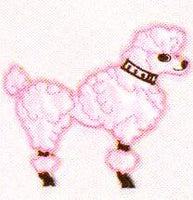 JKM Medium Poodle Applique (Stick On)