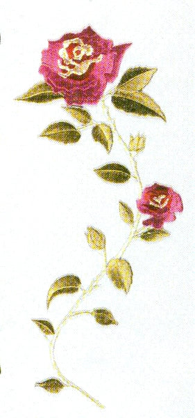 JKM Classic Large Rose Applique (Stick On)