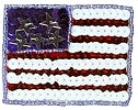 JKM Sequins Flag Applique (Iron On)