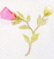 JKM Rosebuds Applique (Iron On)