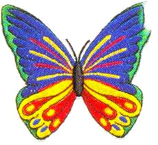 JKM Large Multi Butterfly Applique (Iron On)