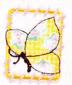JKM Light Butterfly in Frame Applique (Iron On)