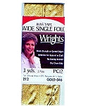 Wrights Wide Single Fold Lame Bias Tape
