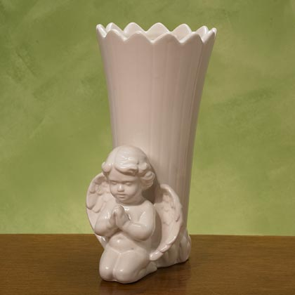 JKM Angel Vase