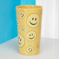 JKM Smiley Face Vase