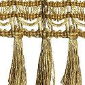 Wrights Metallic Fringe 2 Inch