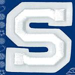 Wrights Letter S Raised Embroidery