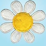 Wrights Daisy White/Yellow