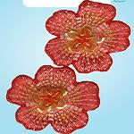 Wrights Mini Beaded Flower Orange