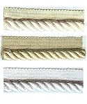 "JKM Twisted Cord with Knitted Lip (JKM Classic Label Trim) - 3/8"" Width"