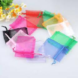 "JKM Organza Pouch Rectangle - 3""x4"" ; 12 Pcs"
