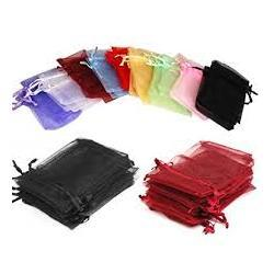 "JKM Organza Pouch Rectangle - 5""x6 1/2"" ; 12 Pcs"