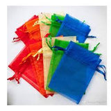 "JKM Organza Pouch Rectangle - 6""x9 1/2"" ; 12 Pcs"