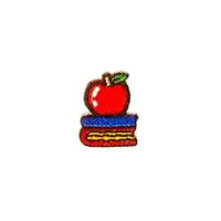 JKM Small Textbooks with Apple Applique Iron & Stick On