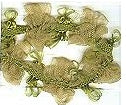 JKM Organdy Flower Garland Trim