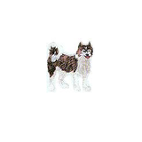 JKM Husky Applique Stick On