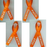 JKM Orange Awareness Ribbon - Ribbons for Rescue