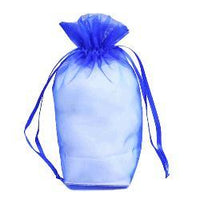 "JKM Organza Square Gusset Bag with Drawstring - 4"" x 6"" x 2"""