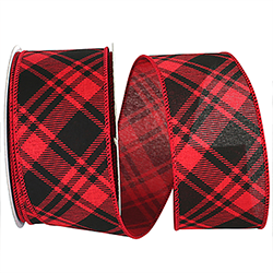 Buffalo Grand Plaid Ribbon Wire Edge