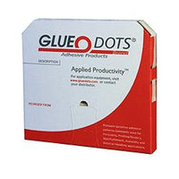 JKM Low profile 3/4 Inch Diameter GLUE DOTS® 1/64 Inch thick