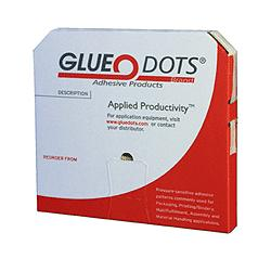 JKM Low Profile 1/2 Diameter GLUE DOTS® 1/64 thick