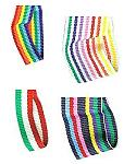 Morex Multi-Color Grosgrain Stripes Ribbon