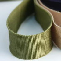 "JKM Petersham Grosgrain Ribbon with Scalloped Edge - 1 1/2"" ; 33 Yards"