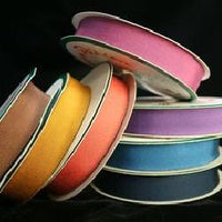 "JKM Petersham Grosgrain Ribbon with Scalloped Edge - 3/4"" ; 33 Yards"