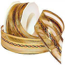 Petersburg Metallic Sheer Ribbon