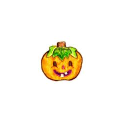 JKM Small Jack-O-Latern Applique Iron On