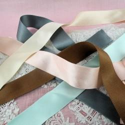 "JKM Double Face Silk Satin Ribbon - 1"" ; 33 Yards"